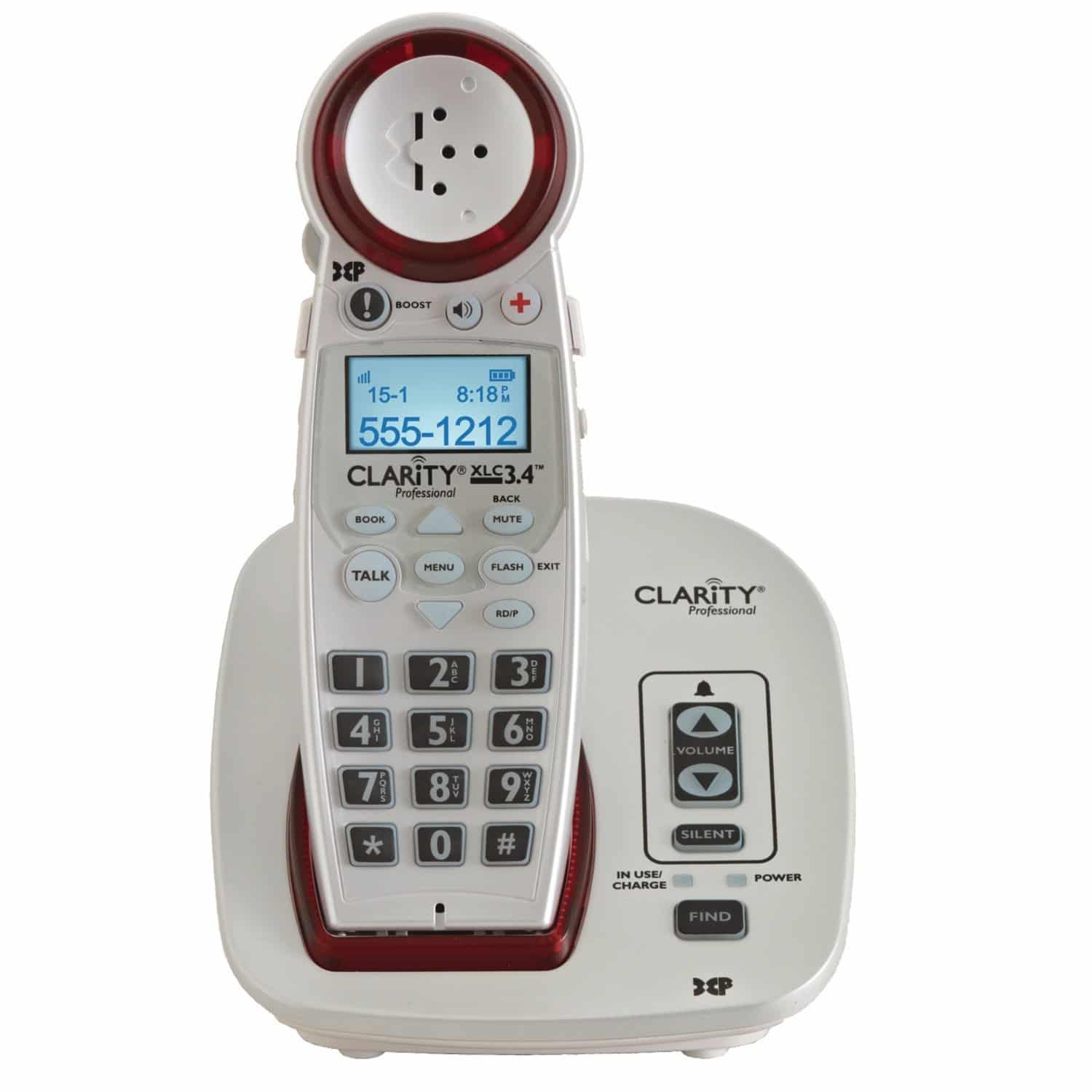 Clarity xlc3 4 amplified cordless phone