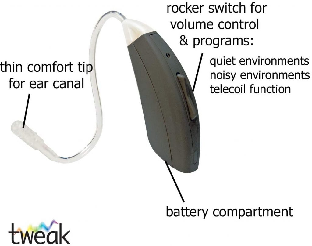 Tweak Connect HEARING AIDS