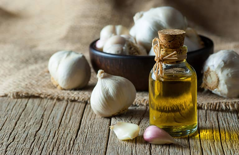 garlic and olive oil for hearing loss