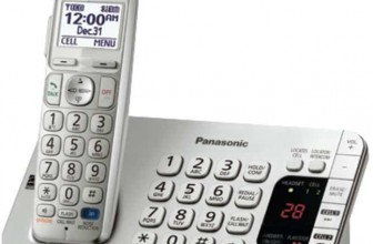 Panasonic Link 2 Cell Bluetooth KX-TGE274S 4 Handsets Corldess Phone
